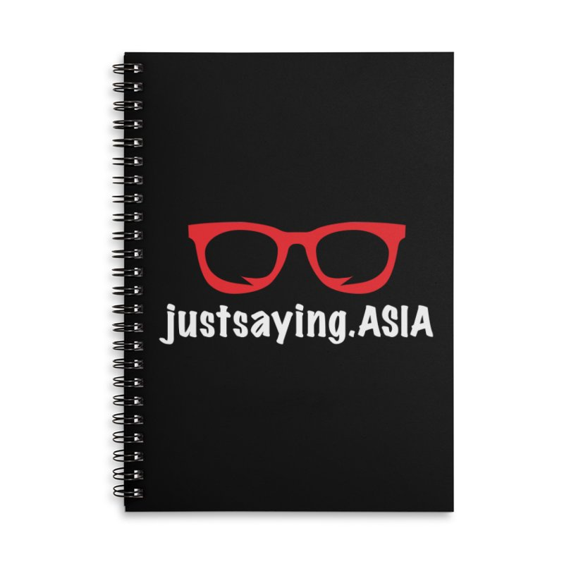 justsaying.ASIA Emblem Accessories Lined Spiral Notebook by Swag Stop by justsaying.ASIA