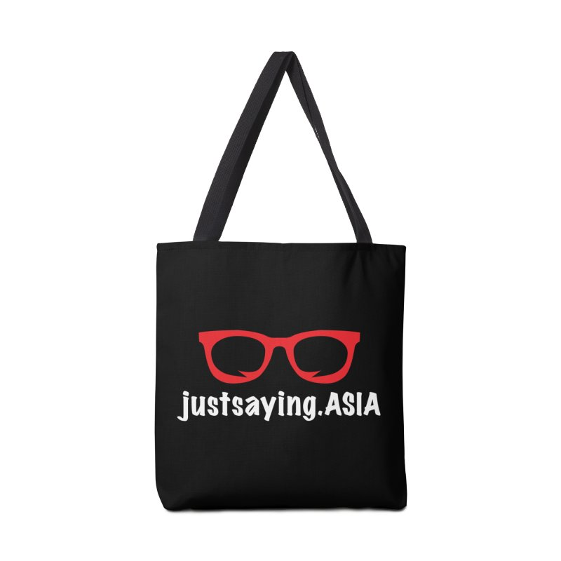 justsaying.ASIA Emblem Accessories Bag by Swag Stop by justsaying.ASIA