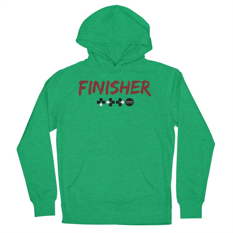 Finisher Women's French Terry Pullover Hoody by Swag Stop by justsaying.ASIA