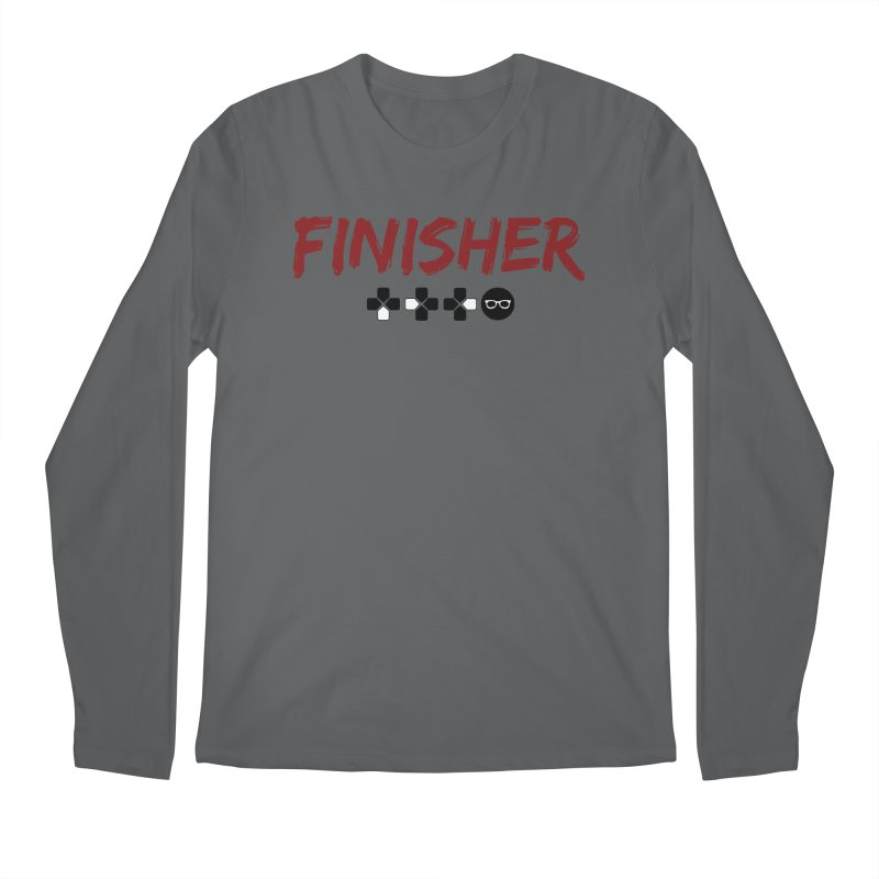 Finisher Men's Longsleeve T-Shirt by Swag Stop by justsaying.ASIA