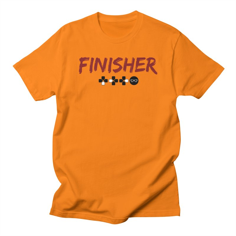 Finisher Men's Regular T-Shirt by Swag Stop by justsaying.ASIA