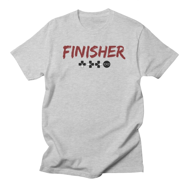 Finisher Men's T-Shirt by Swag Stop by justsaying.ASIA