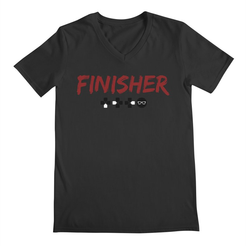 Finisher Men's Regular V-Neck by Swag Stop by justsaying.ASIA