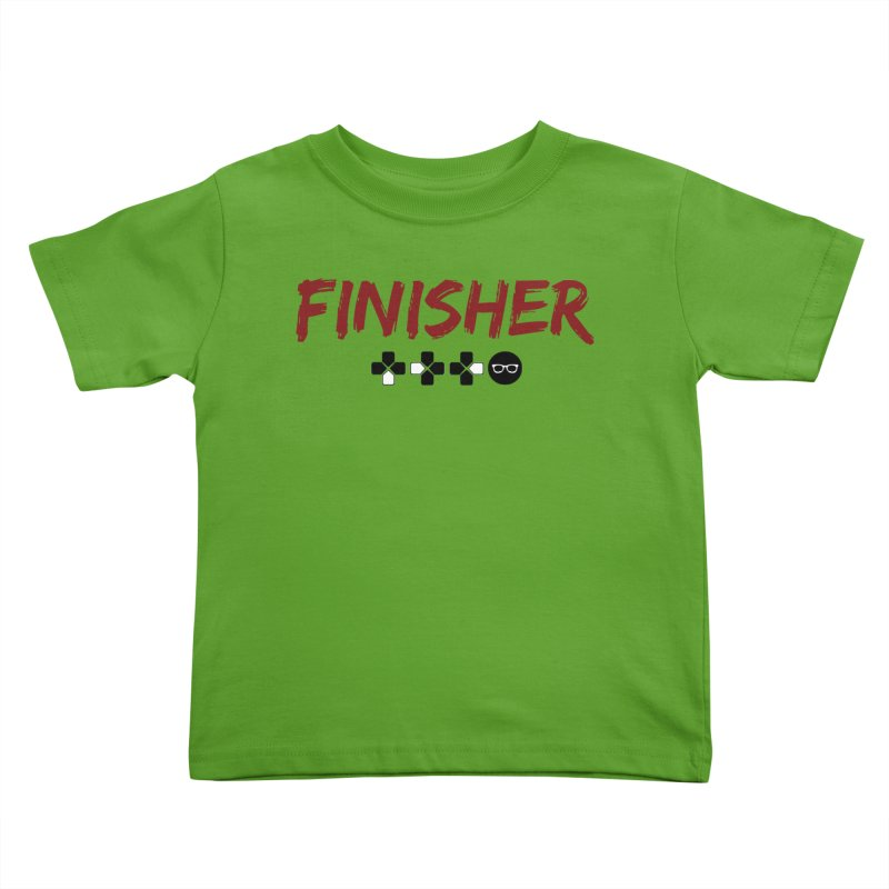 Finisher Kids Toddler T-Shirt by Swag Stop by justsaying.ASIA