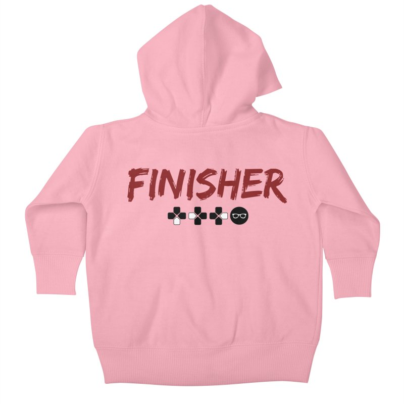Finisher Kids Baby Zip-Up Hoody by Swag Stop by justsaying.ASIA