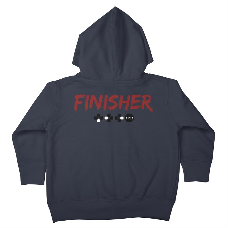 Finisher Kids Toddler Zip-Up Hoody by Swag Stop by justsaying.ASIA