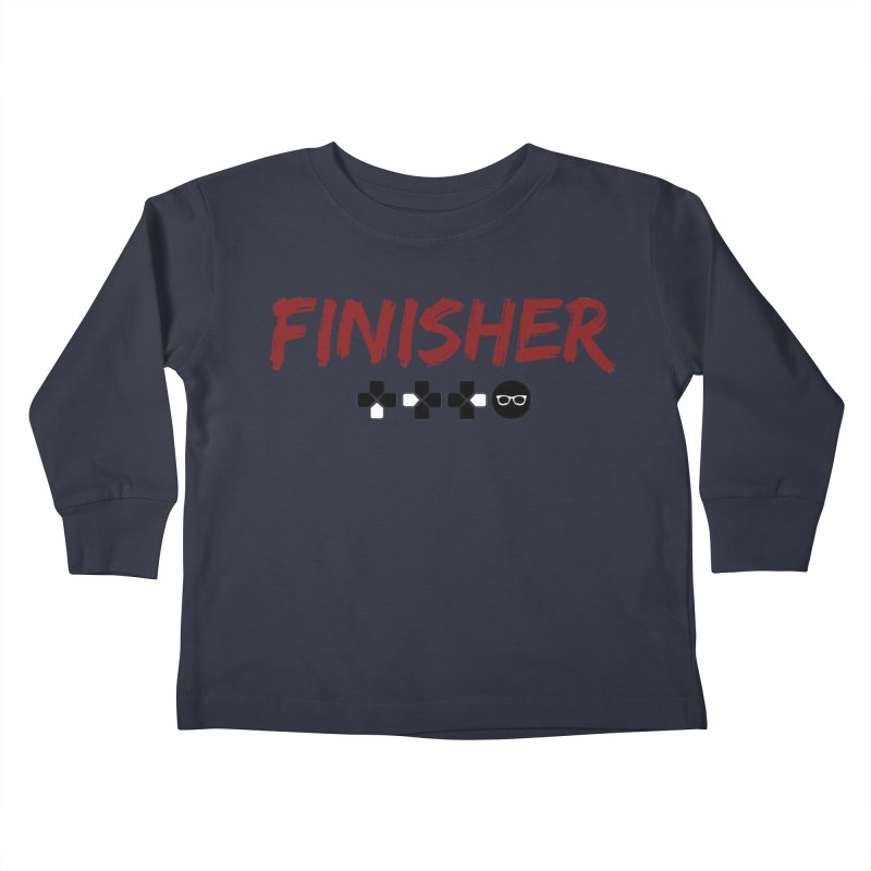 Finisher Kids Toddler Longsleeve T-Shirt by Swag Stop by justsaying.ASIA
