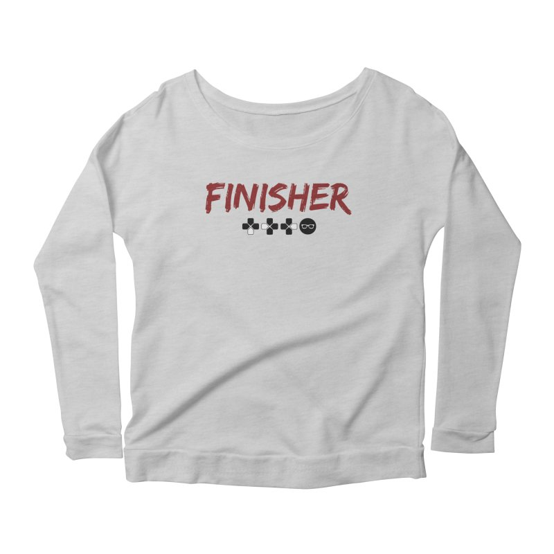 Finisher Women's Longsleeve T-Shirt by Swag Stop by justsaying.ASIA