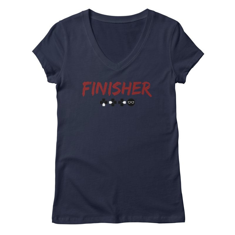 Finisher Women's V-Neck by Swag Stop by justsaying.ASIA