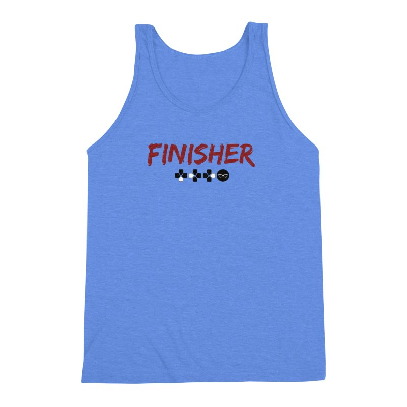 Finisher Men's Triblend Tank by Swag Stop by justsaying.ASIA
