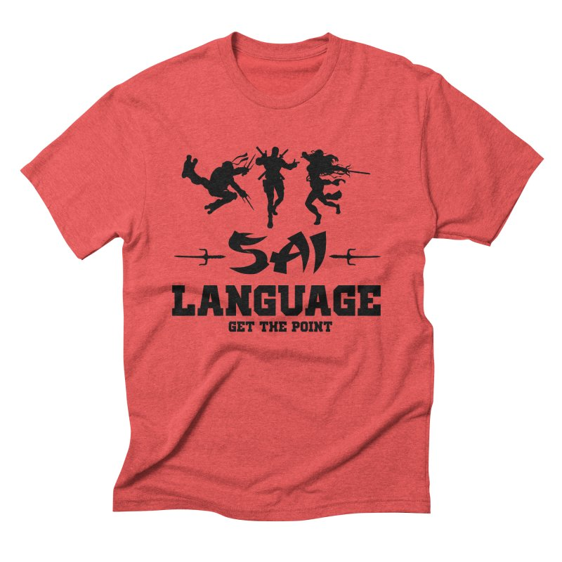 Sai Language Men's T-Shirt by Swag Stop by justsaying.ASIA