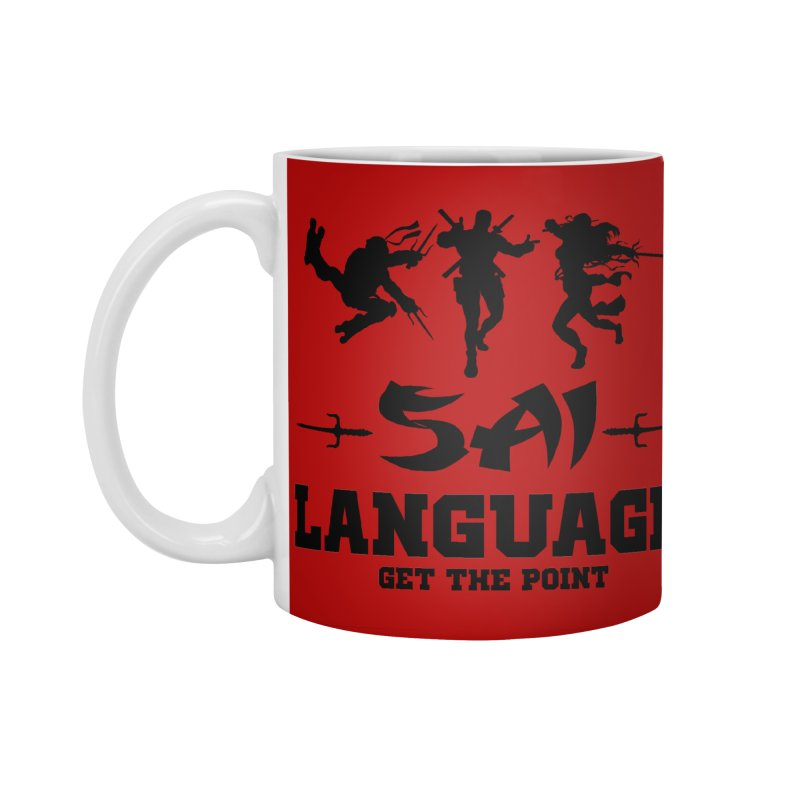 Sai Language Accessories Mug by Swag Stop by justsaying.ASIA