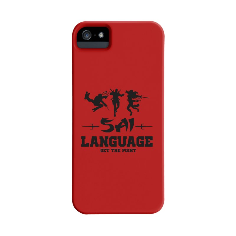 Sai Language Accessories Phone Case by Swag Stop by justsaying.ASIA