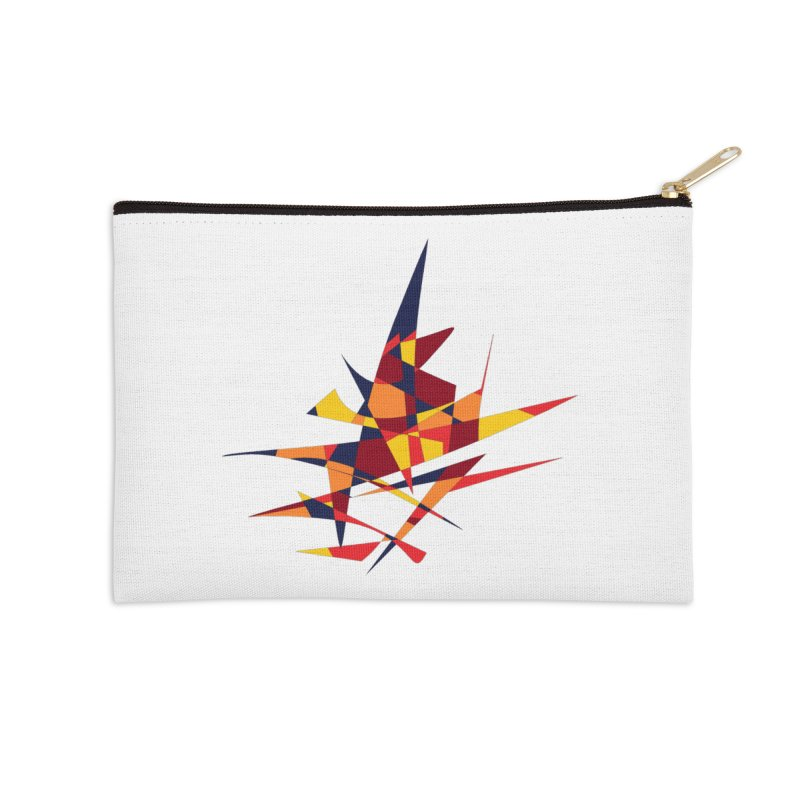 Wizard's Hat, Abstract (Designed by Just Stories) Accessories Zip Pouch by Just Stories