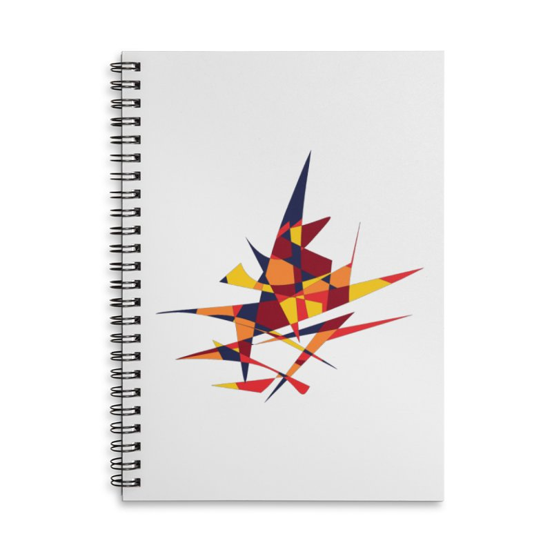 Wizard's Hat, Abstract (Designed by Just Stories) Accessories Notebook by Just Stories