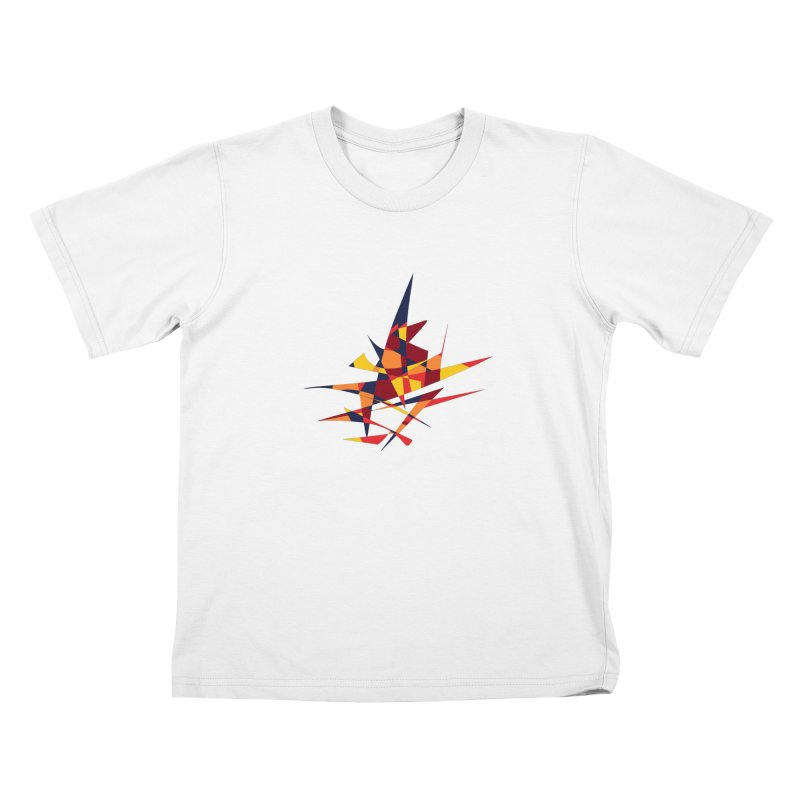 Wizard's Hat, Abstract (Designed by Just Stories) Kids T-Shirt by Just Stories