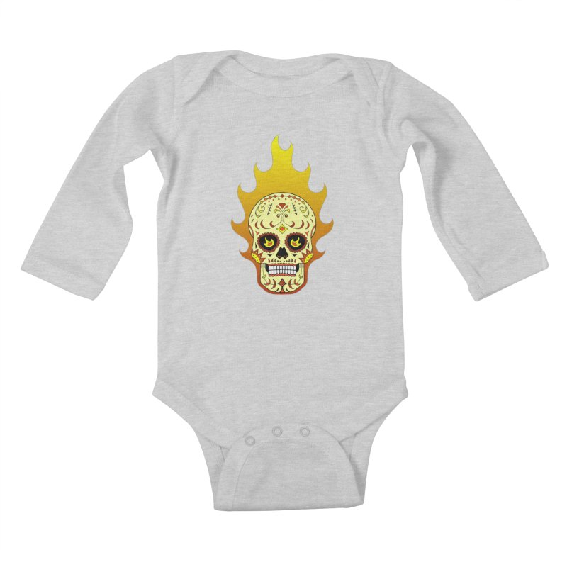 Candy Rider Kids Baby Longsleeve Bodysuit by justus's Artist Shop