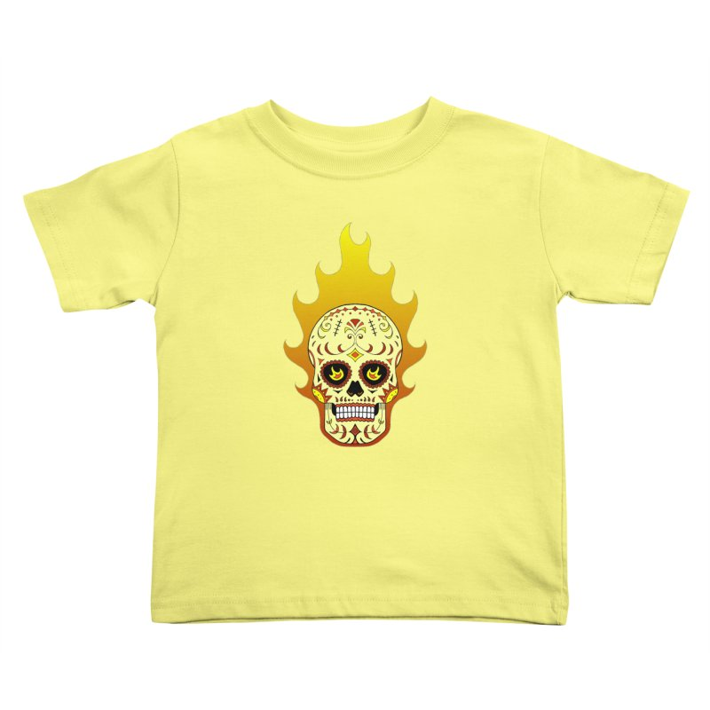 Candy Rider Kids Toddler T-Shirt by justus's Artist Shop