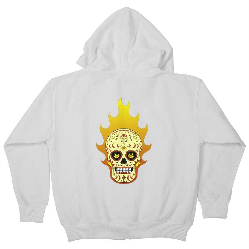Candy Rider Kids Zip-Up Hoody by justus's Artist Shop