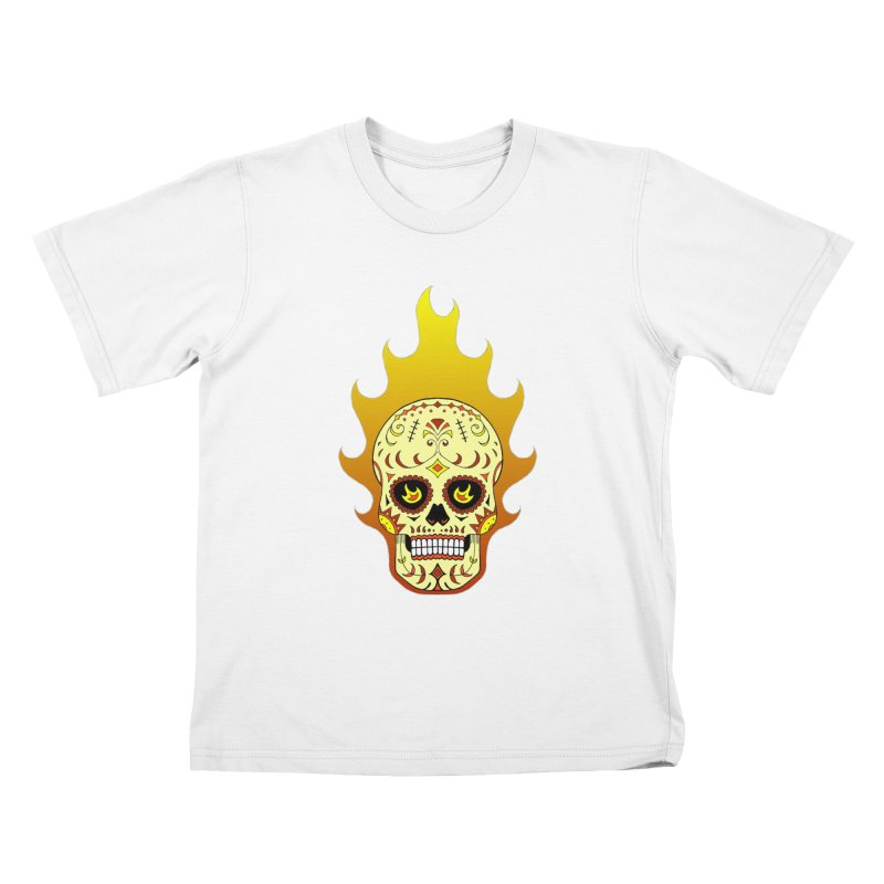 Candy Rider Kids T-Shirt by justus's Artist Shop
