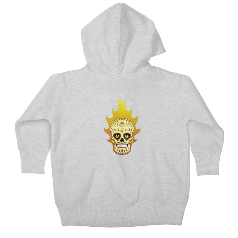 Candy Rider Kids Baby Zip-Up Hoody by justus's Artist Shop