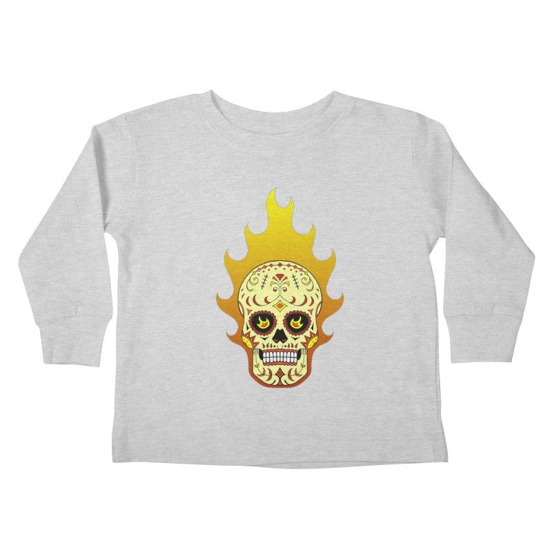 Candy Rider Kids Toddler Longsleeve T-Shirt by justus's Artist Shop