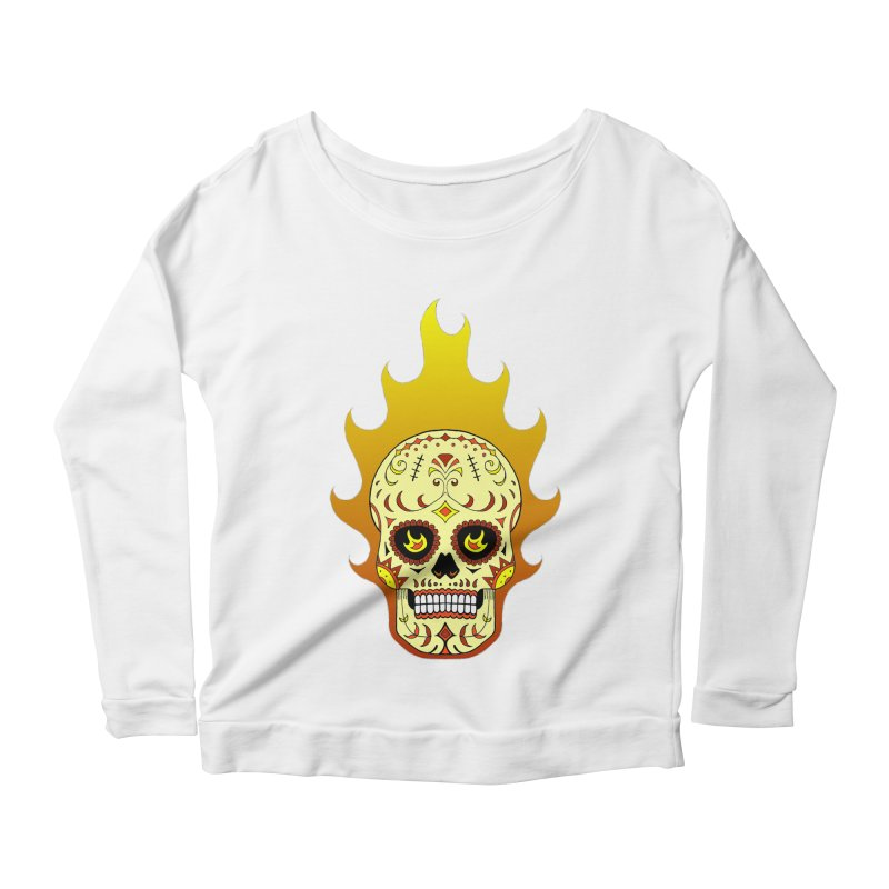 Candy Rider Women's Longsleeve Scoopneck  by justus's Artist Shop