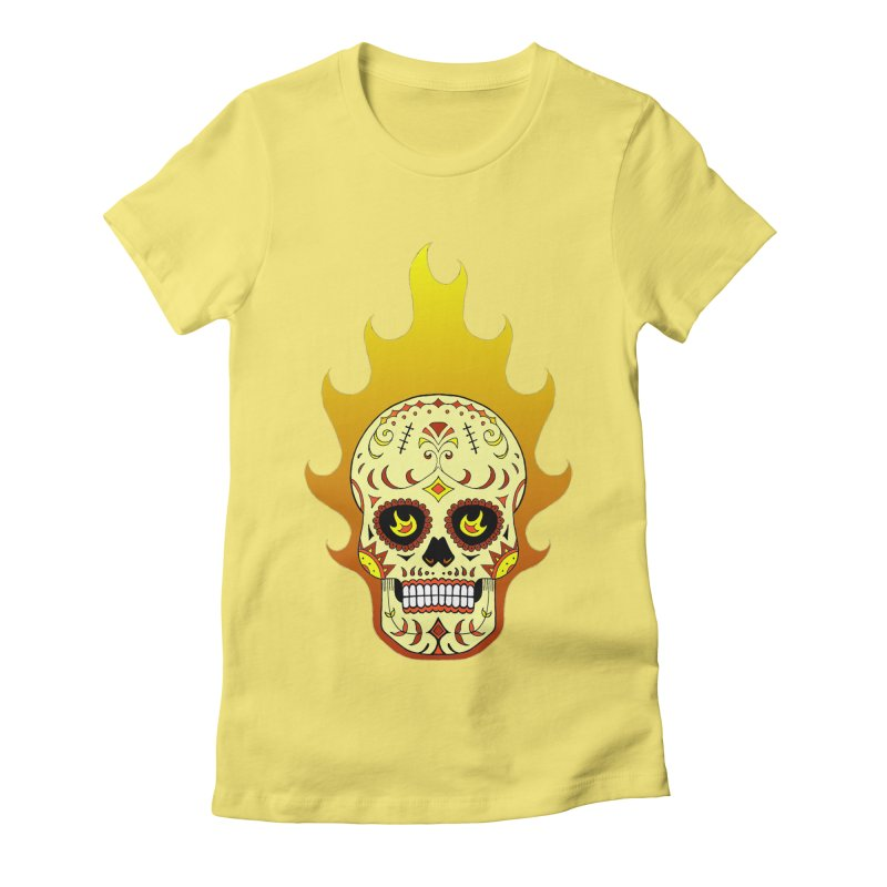 Candy Rider Women's Fitted T-Shirt by justus's Artist Shop