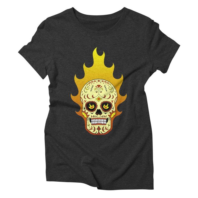 Candy Rider Women's Triblend T-Shirt by justus's Artist Shop