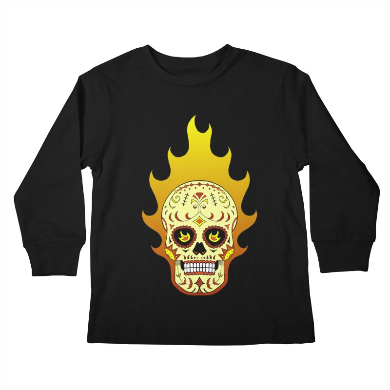 Candy Rider Kids Longsleeve T-Shirt by justus's Artist Shop