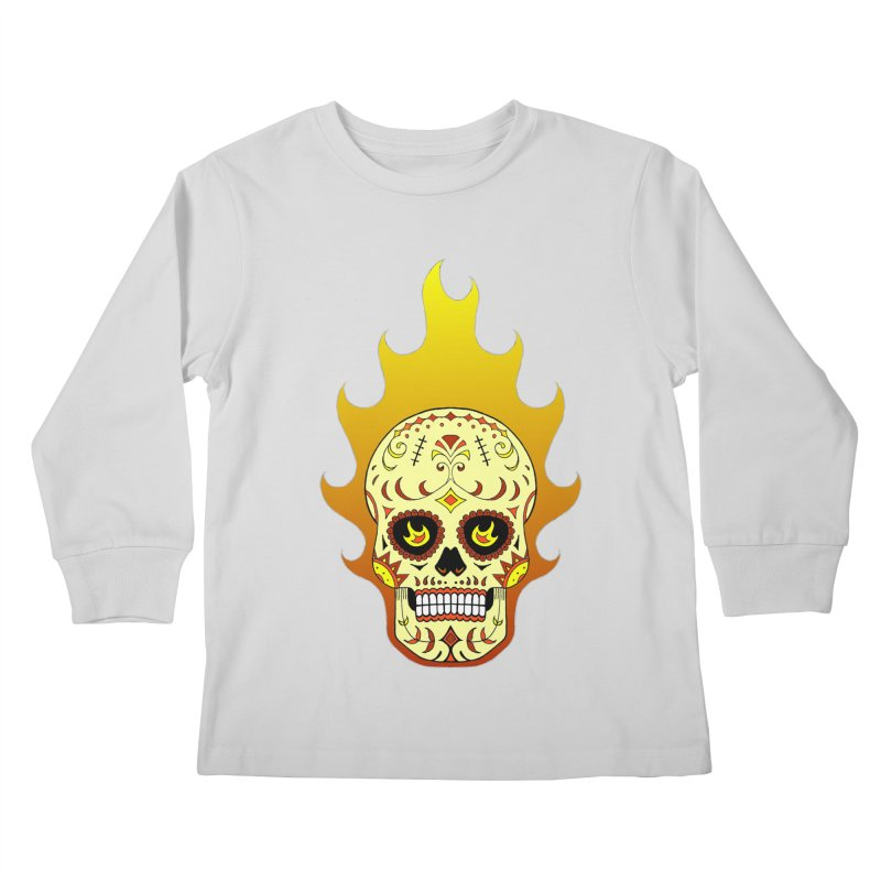 Candy Rider Kids Longsleeve T-Shirt by justus's Artist Shop