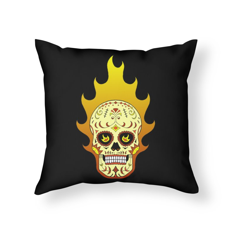 Candy Rider Home Throw Pillow by justus's Artist Shop