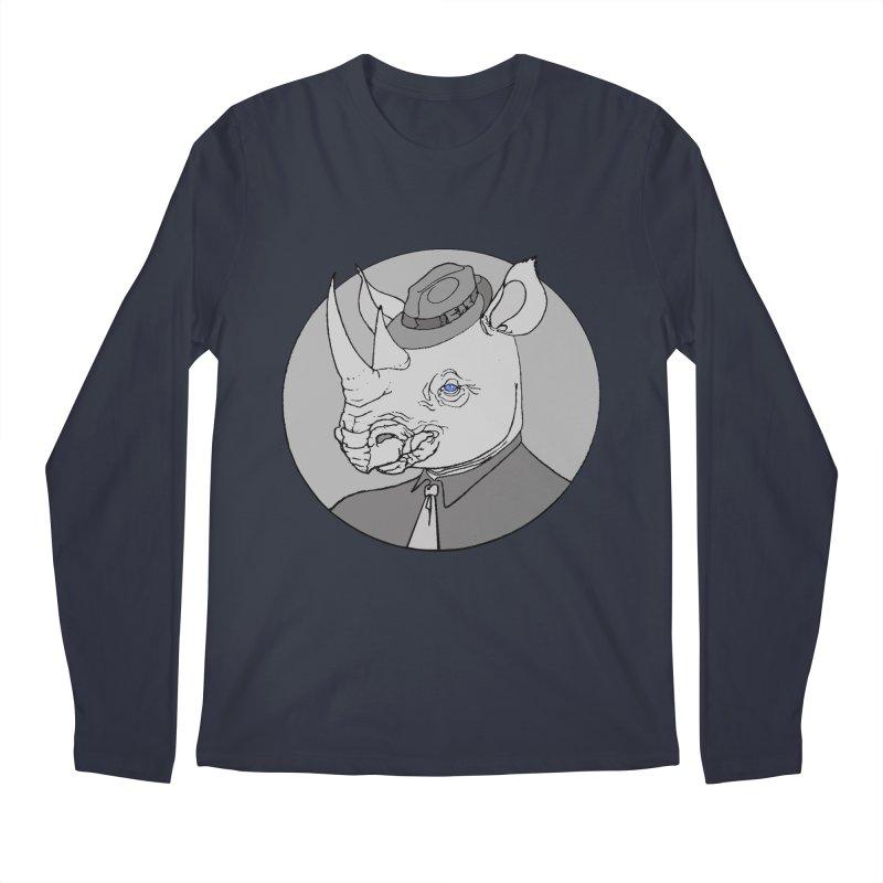 Rhi-Noir Men's Longsleeve T-Shirt by justus's Artist Shop