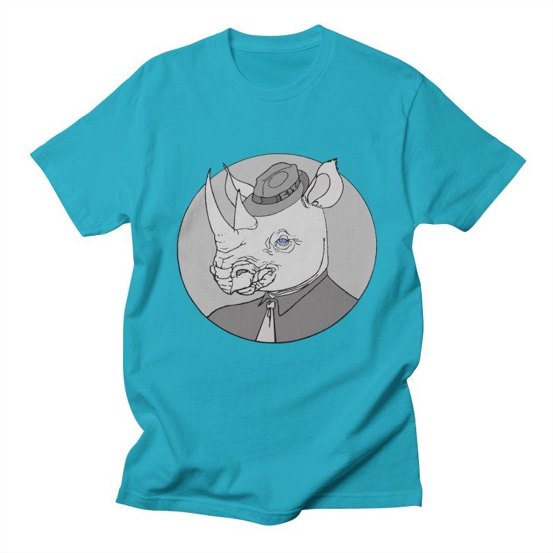 Rhi-Noir Men's T-shirt by justus's Artist Shop