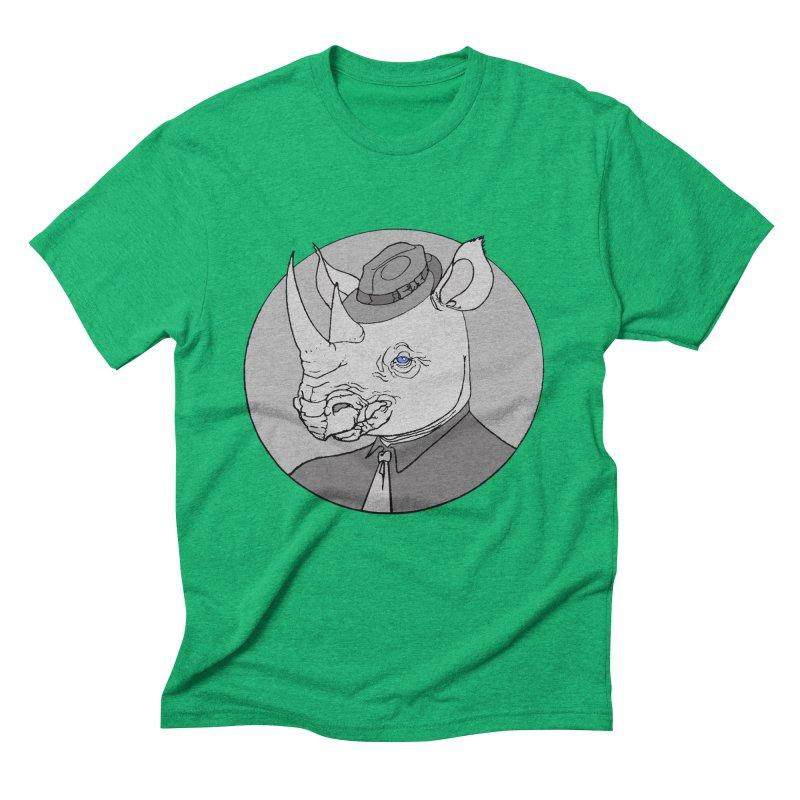 Rhi-Noir Men's Triblend T-Shirt by justus's Artist Shop