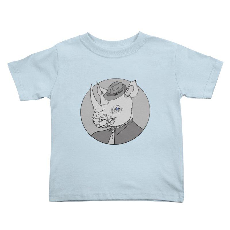 Rhi-Noir Kids Toddler T-Shirt by justus's Artist Shop