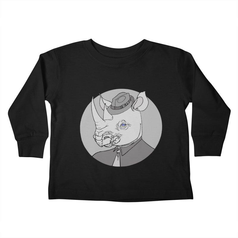 Rhi-Noir Kids Toddler Longsleeve T-Shirt by justus's Artist Shop