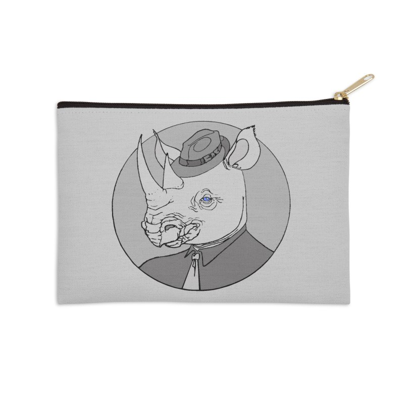 Rhi-Noir Accessories Zip Pouch by justus's Artist Shop