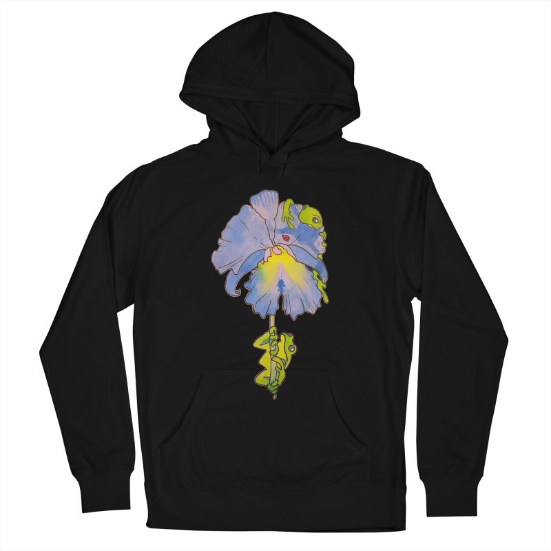 Iris Play Women's Pullover Hoody by justus's Artist Shop