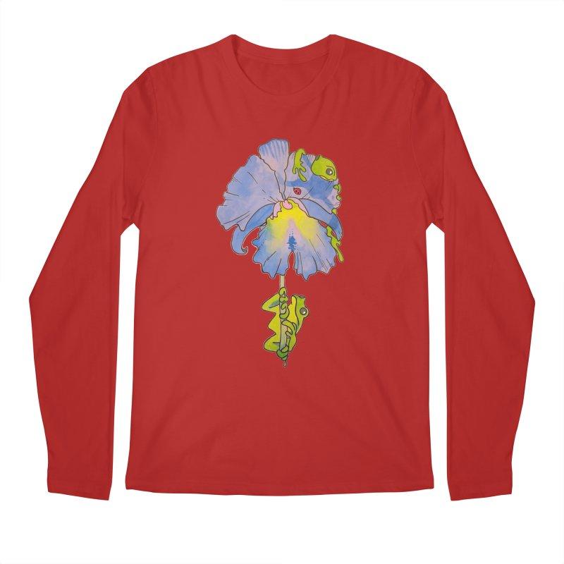 Iris Play Men's Longsleeve T-Shirt by justus's Artist Shop