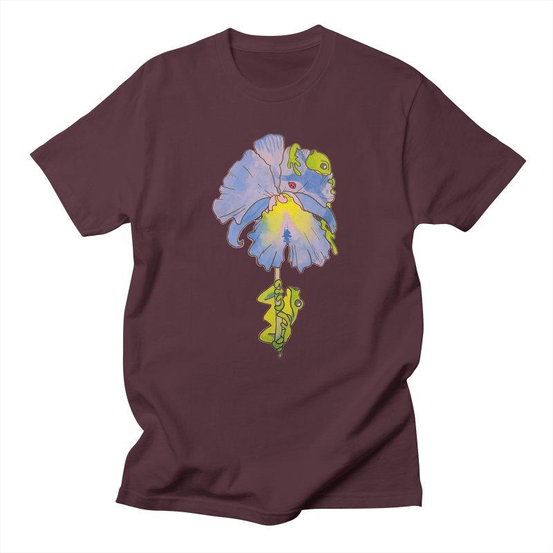 Iris Play Men's T-Shirt by justus's Artist Shop