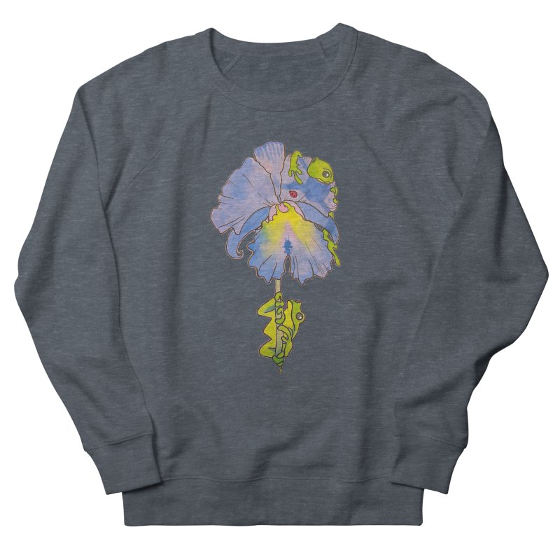 Iris Play Women's Sweatshirt by justus's Artist Shop