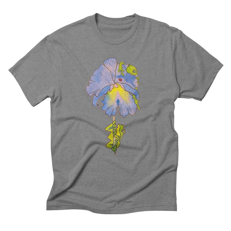 Iris Play Men's Triblend T-Shirt by justus's Artist Shop