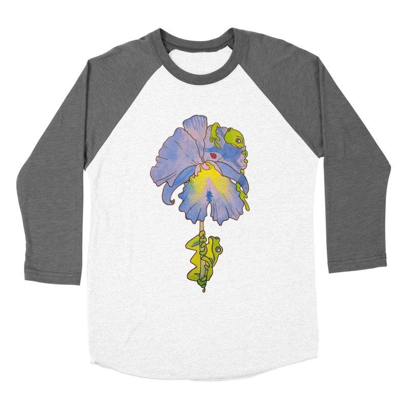 Iris Play Women's Baseball Triblend T-Shirt by justus's Artist Shop