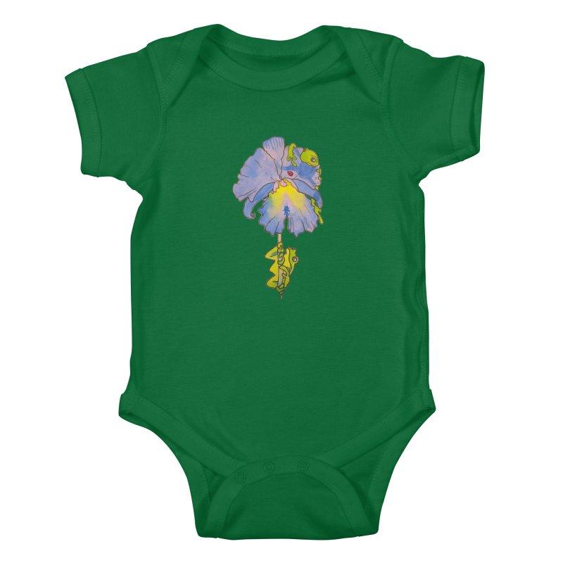 Iris Play Kids Baby Bodysuit by justus's Artist Shop