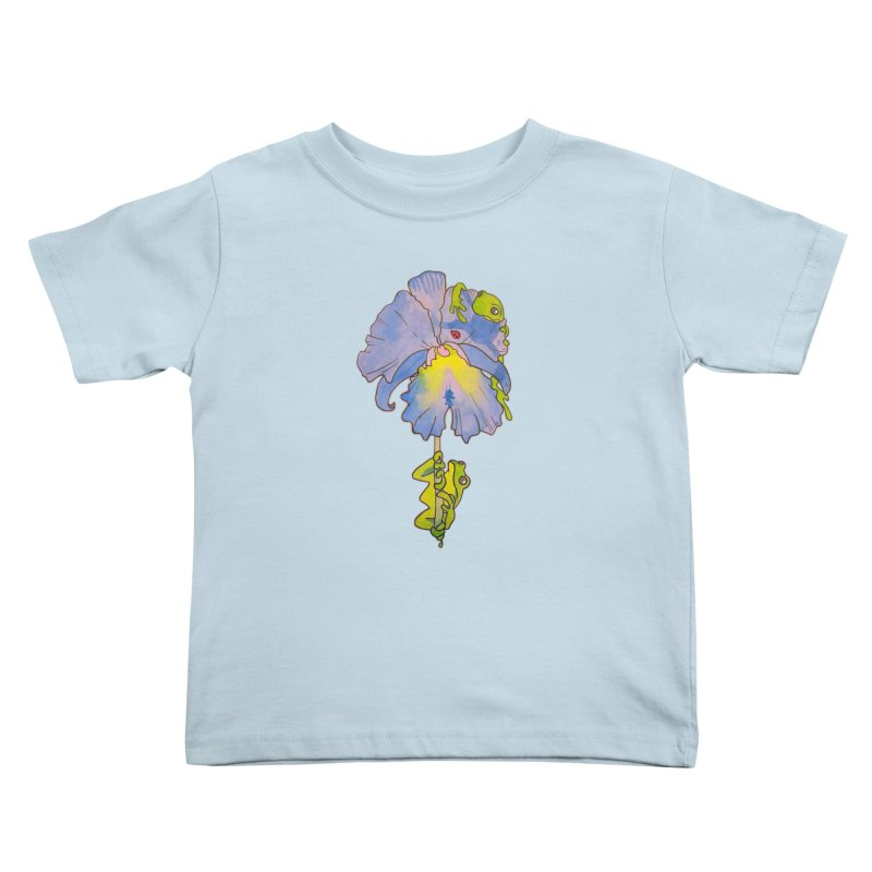 Iris Play Kids Toddler T-Shirt by justus's Artist Shop
