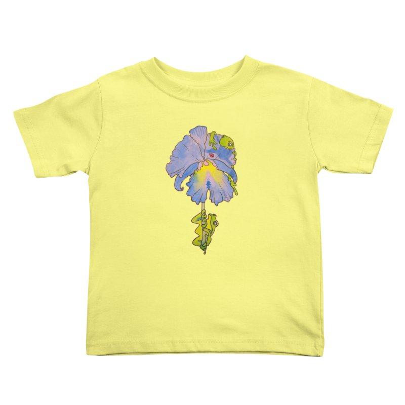Iris Play Kids Toddler T-Shirt by justus's Artist Shop