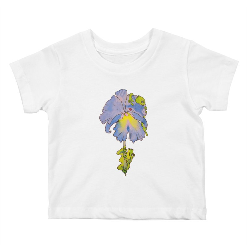 Iris Play Kids Baby T-Shirt by justus's Artist Shop