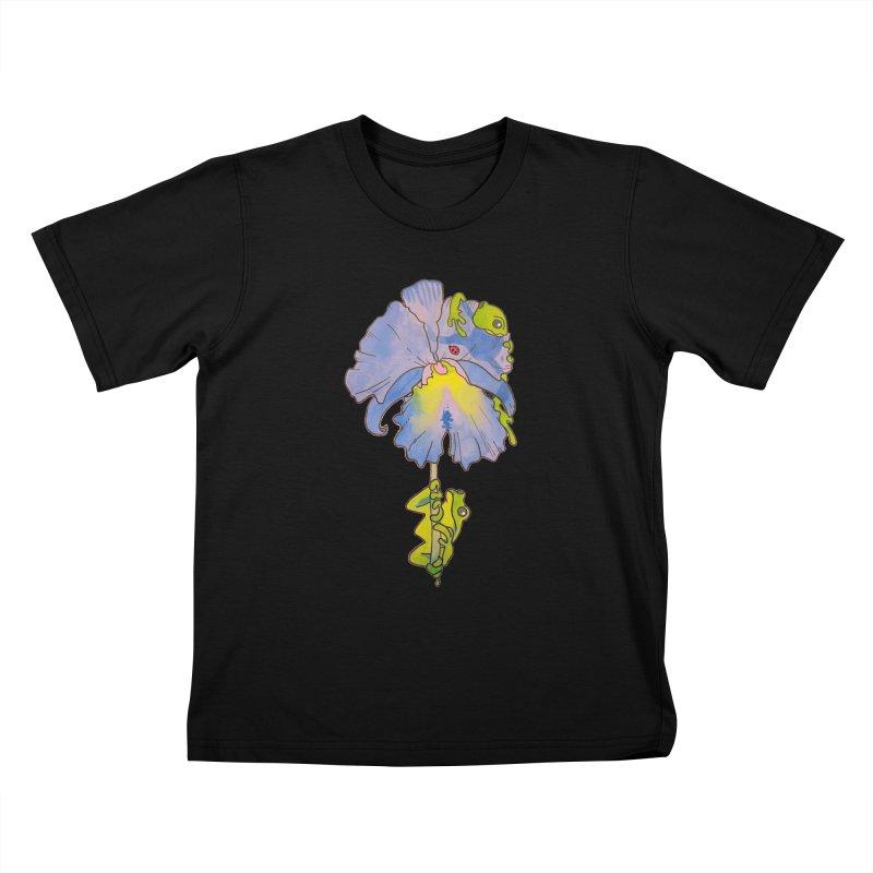 Iris Play Kids T-Shirt by justus's Artist Shop
