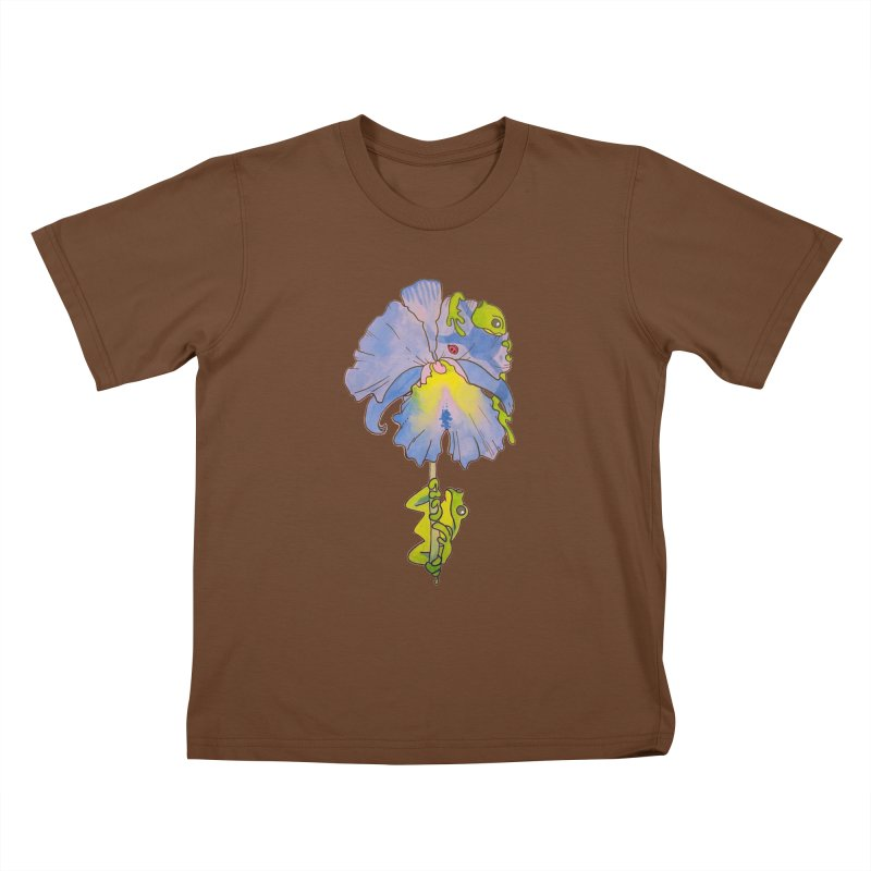 Iris Play Kids T-Shirt by justus's Artist Shop